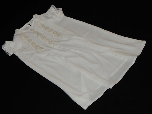 Christening Dress - Short White