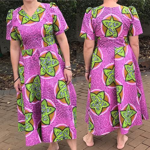 African comfy summer dress