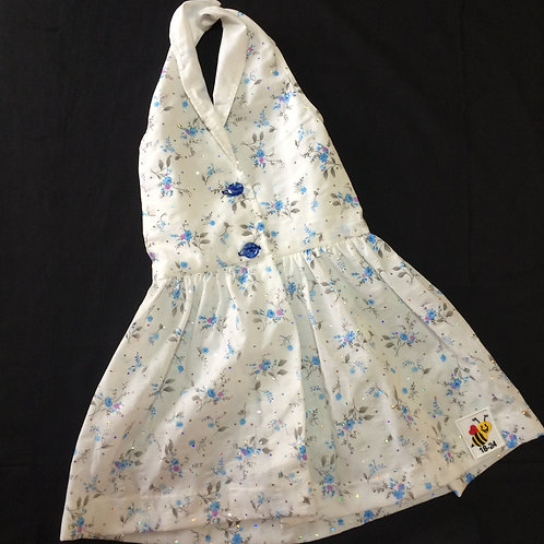 Halterneck Dress - Blue (18-24m)