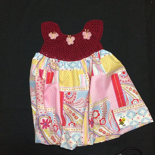 Summer Dresses - Red (3-4 years)