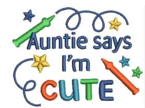 Auntie says...