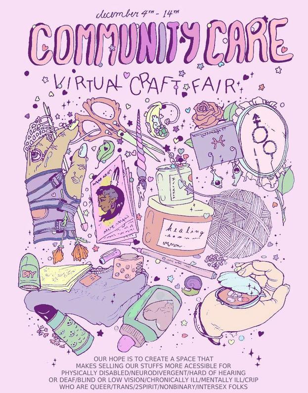 COMMUNITY CARE virtual craft fair