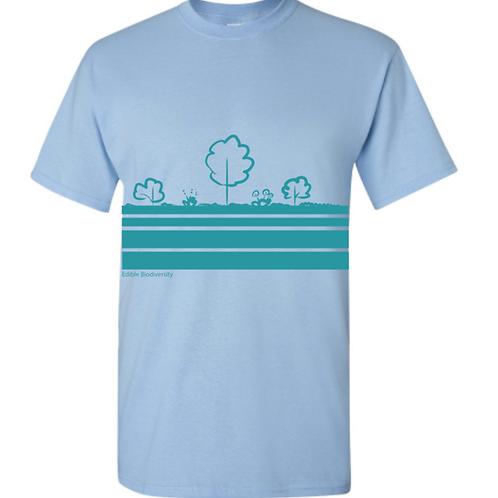 Edible Diversity Layers T-shirt (Riparian)