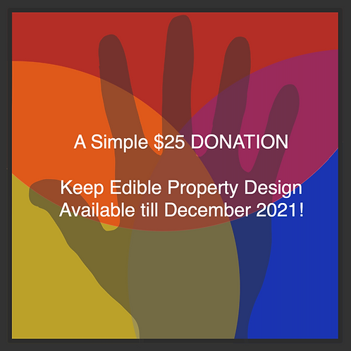 A Simple $25 DONATION