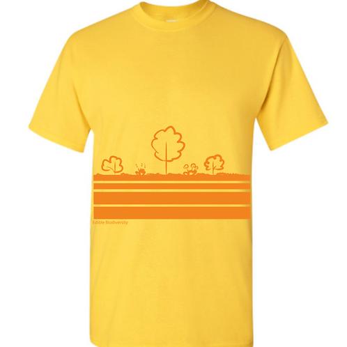 Edible Diversity Layers T-shirt (Sunshine)