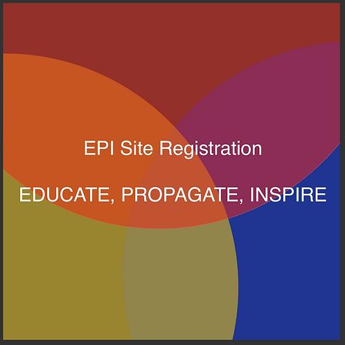 Register as an EPI Site