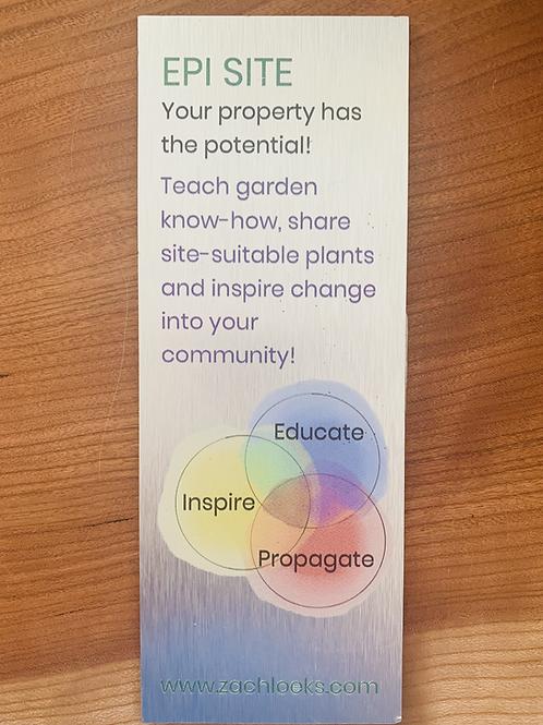 Mini Eco-education Signage