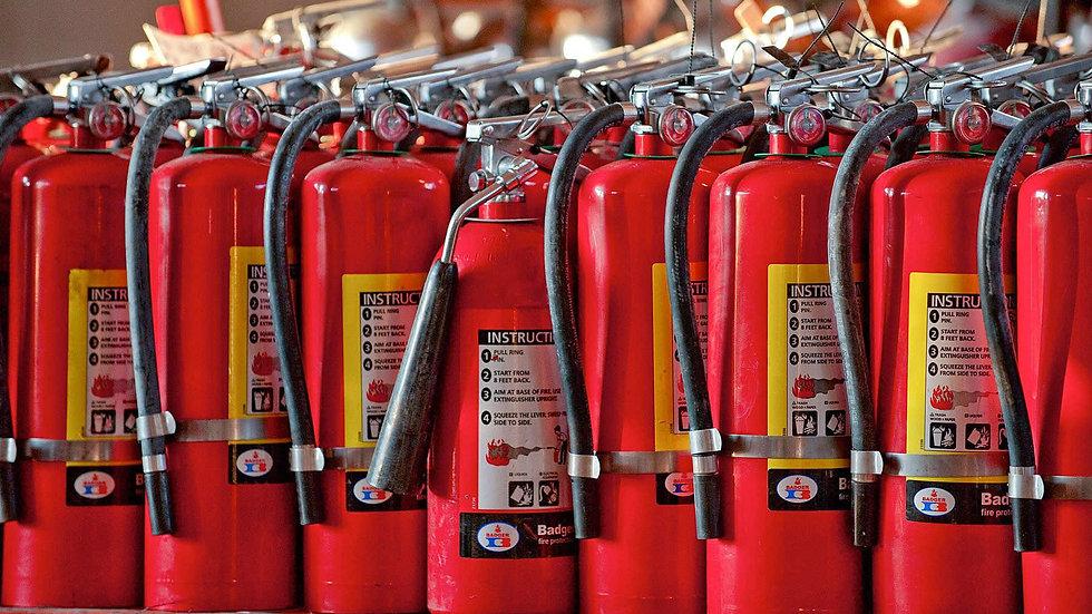 Обслуживание огнетушителей, поставка