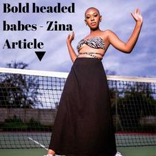 Bold headed babes - Zina