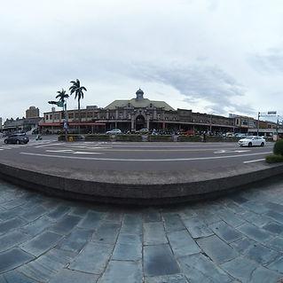 新竹火車站外觀720環景圖