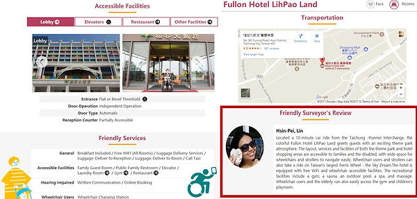 部分旅館資訊,由友善特派員蒐集,貼近使用者需求