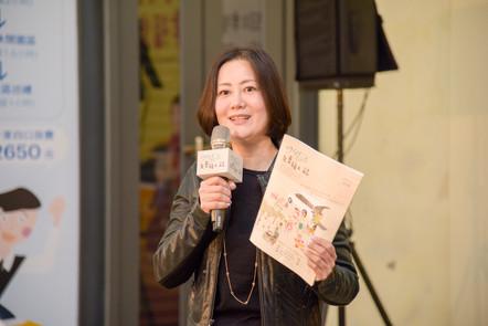 吳思瑤立委到場力挺9453旅人誌,並發表對於無障礙小旅行之期許