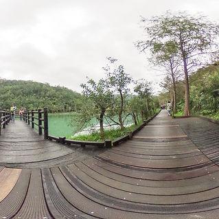 望龍埤環湖步道720環景圖