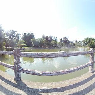 清華大學成功湖畔720環景圖