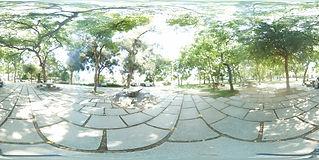 成功湖畔休息處720環景圖
