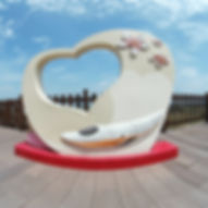 高鐵觀景台木棧道720環景圖