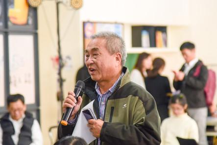 台南農村再生社區營造協會理事長吳長庚