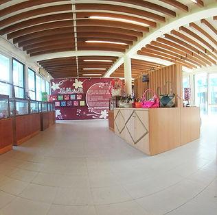 花布燈籠文化館室內展區720環景圖