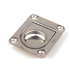"""Stamped 304 Stainless Steel Ring Pull, size 2"""" 3/16"""