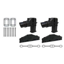 OMC , Volvo Penta V8 5.0&5.7 Hi Rise Eblow Manifold Kit, OMC 3862627, GLM 51337