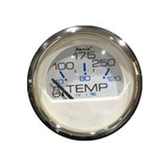 """Chesapeake stainless steel gauge water temp gauge 2"""" by Faria"""