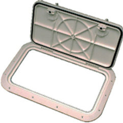 Bomar Inspection Hatch White 9in G81030-22