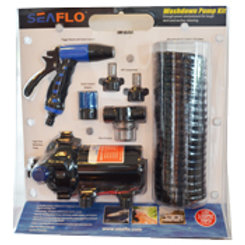 Washdown pump kit by Seaflo, 12V, 5.5 g/m (20 l/m) @ 70PSI