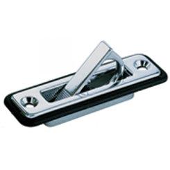 "PERKO 1221DP0CHR Spring Loaded Flush Pull - Chrome Plated Zinc - ¾"" x 3-1/4"""