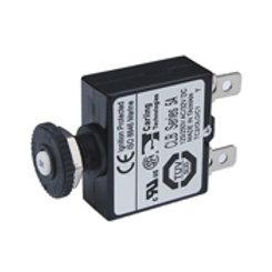 Push button reset quick connect circuit breaker 5 amp, Blue Sea 7052