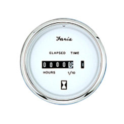"Faria chesapeake hour meter  10,000 hr 13813, 2"" size"
