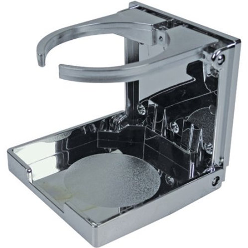 Chrome Plated Folding & Adjustable Drink Holder 50-79411 by Seachoice