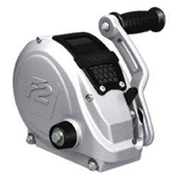 Fulton F2 Fully Enclosed Trailer Winch w/ Strap & Adjustable Handle - 1,600 lbs