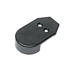 1-9/16'' Rub Rail End Cap, Taco marine part F90-0002