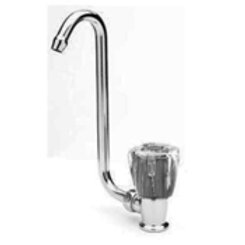 Scandvik Fold Up/Down Boat Tap, Clear Knob, Cold Water Faucet 10056