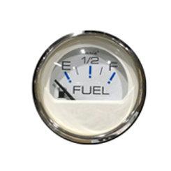 """Chesapeake stainless steel gauge fuel gauge 2"""" by Faria"""