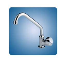 Scandvik medium arch swivel tap CHR PLT, 10169P