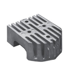 Block zinc anode for MerCruiser 43994,