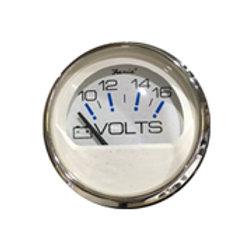 """Chesapeake stainless steel gauge volt meter gauge 2"""" by Faria"""