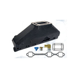OMC , Volvo Penta V6 4.3L Exhaust Manifold Assembly 3857656, GLM 51480
