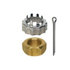 Prop nut & keeper, OMC 398042, Volvo 3850984-0, GLM 22185