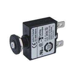 Push button reset quick connect circuit breaker 10 amp, Blue Sea 7054