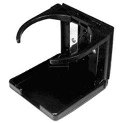 Adjustable & foldable drink holder in black, HW150100