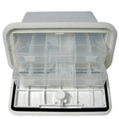 """T-H Marine 7""""x14"""" Tackle Center, TDS-0714-2T-2P"""