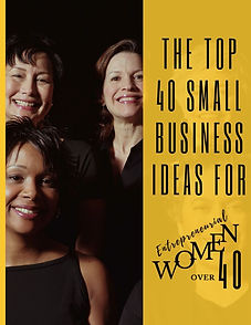 Title Page of Top 40 Small Biz Ideas - 2