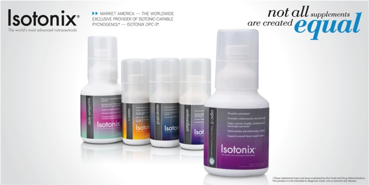 Isotonix Featuring OPC3