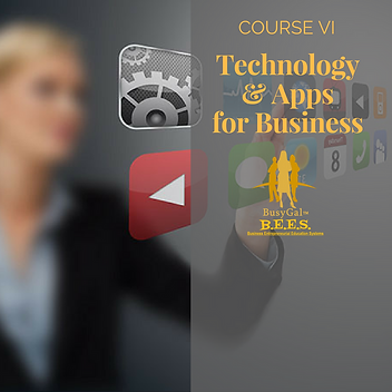 Course Title Technology and Apps for Bus