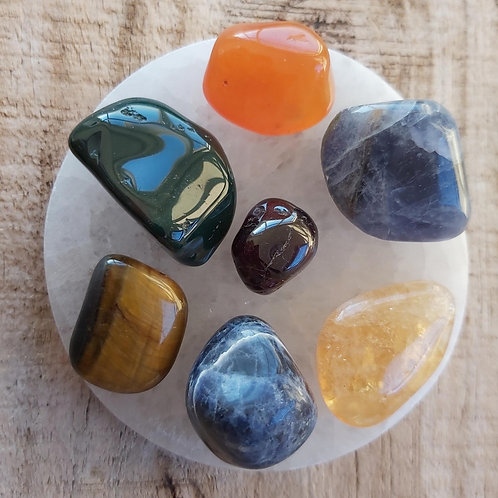 Creativity Crystal Intention Set, Boost Motivation, Passion and Inspiration