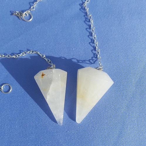Golden Healer Quartz Crystal Dowsing Pendulums, Accurate, Universal Golden Ray
