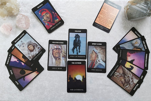 Native American Spirit Oracle Cards
