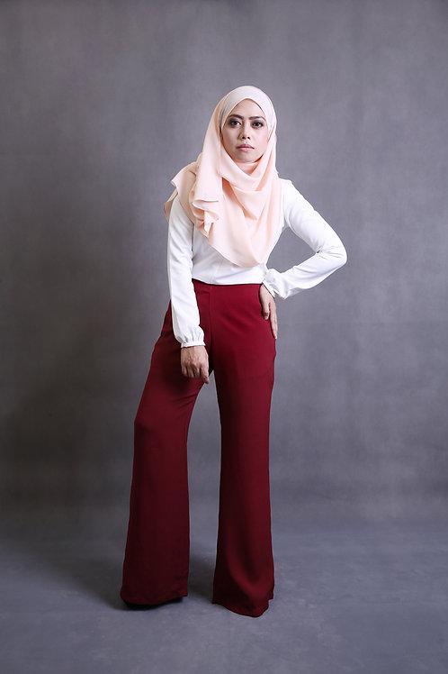 Classy Leesa Pants - Daring Red 2.0